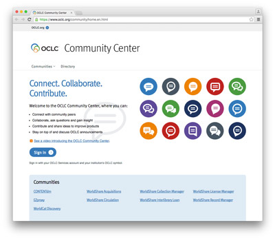 OCLC Community Center