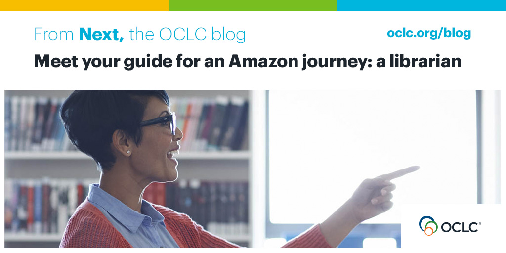 Meet your guide for an Amazon journey: a librarian