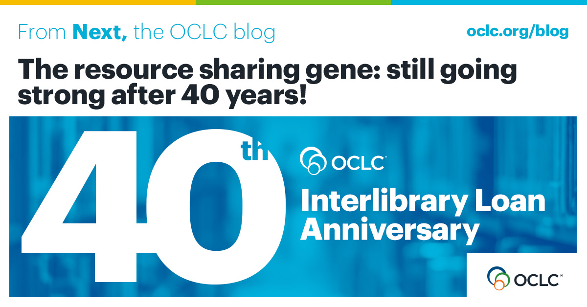 After 40 years of resource sharing … what's next?